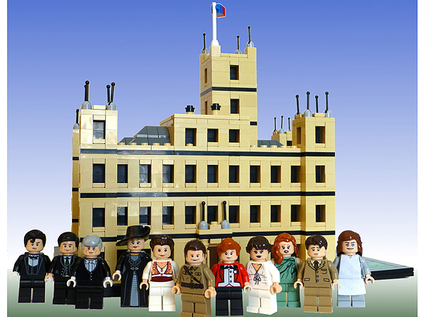 Man Creates Adorable Downton Abbey Lego Set for His Girlfriend