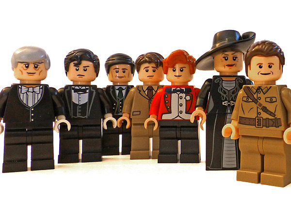 Adorable Downton Abbey Lego Set for His Girlfriend| Downton Abbey
