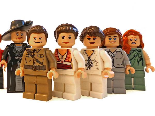 Man Creates Adorable Downton Abbey Lego Set for His Girlfriend| Downton Abbey