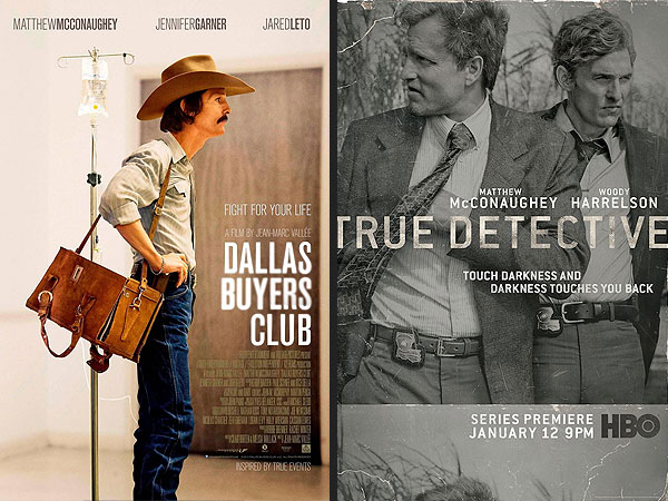 Matthew McConaughey's Career Arc Analyzed Through His Movie Posters| Matthew McConaughey, Media Products