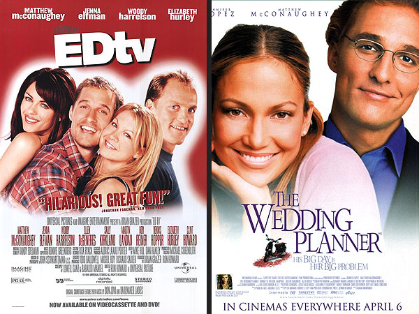Matthew McConaughey's Career Arc Analyzed Through His Movie Posters| Matthew McConaughey, Movies, Video