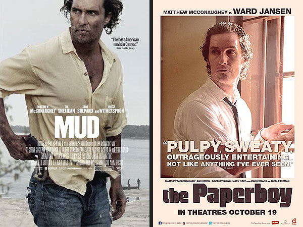 Matthew McConaughey's Career Arc Analyzed Through His Movie Posters| Matthew McConaughey, Movies