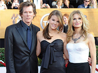 Kyra Sedgwick Waiting for Miss Golden Globe Daughter Sosie 'To Freak Out' | Golden Globes, Kevin Bacon, Kyra Sedgwick