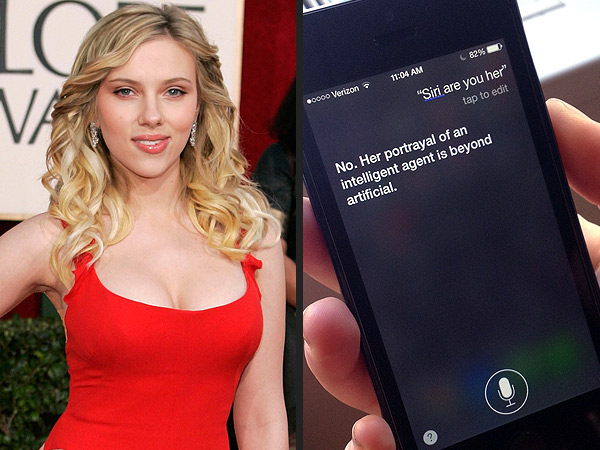 Fancasting a Siri Movie: Who Should Voice the iPhone Seductress? | Scarlett Johansson