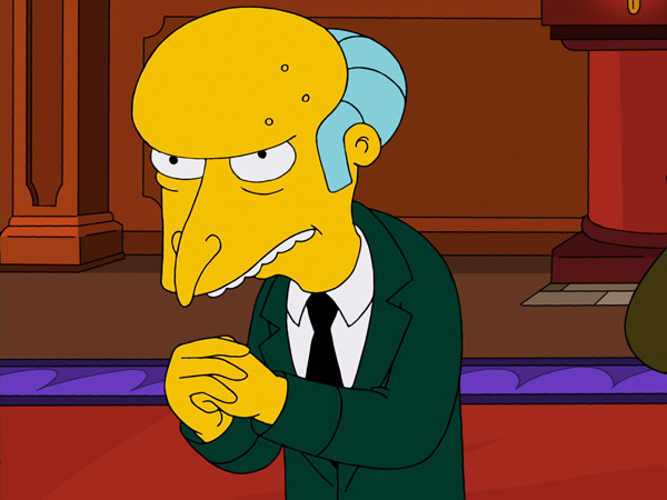 Simpsons Character Says About You  The Simpsons  The SimpsonsSimpsons Characters Mr Burns