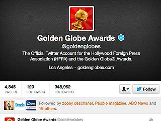 2.1 Million People Tweeted About the Golden Globes Last Night