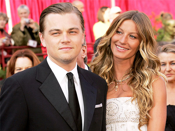 Tina Fey Was Right: Models Love Leonardo DiCaprio | Gisele Bundchen, Leonardo DiCapr