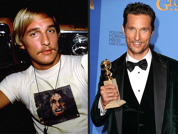 Flashback: See 2014 Oscar Nominees' Earliest Roles | Golden Globe Awards 2014, Dazed And Confused, Matthew McConaughey