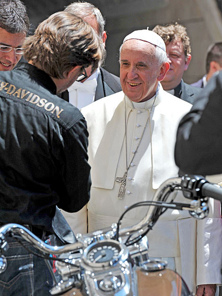 Here's Your Chance to Own the Pope's Motorcycle| Pope Francis