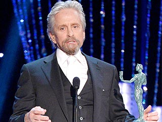 Watch: Michael Douglas's Heartfelt Shout-Out to Dad Kirk, 97, at the SAG Awards | Screen Actors Guild Awards 2014, Individual Class