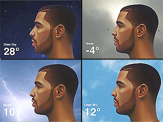 Let Drake Give You the Weather Forecast with New App | Drake