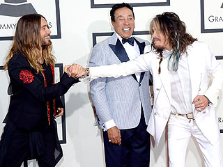 Jared Leto and Steven Tyler: The Grammys' Best Red Carpet Bromance