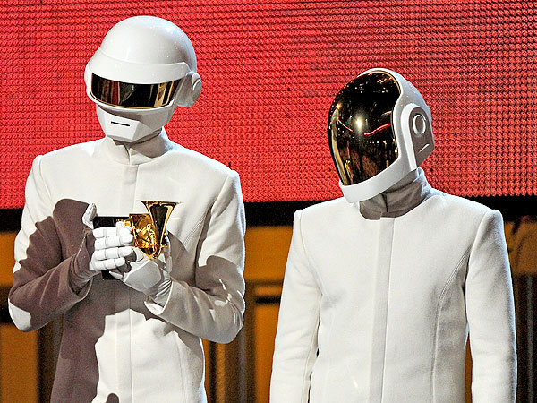 See Daft Punk Without Their Helmets