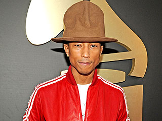 Pharrell Williams Auctioning Off That Crazy Grammys Hat for Charity | Pharrell Williams