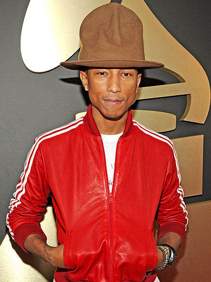 From Pharrell's Mountie to Madonna's Fedora: The Best Hats at the Grammys | Pharrell Williams