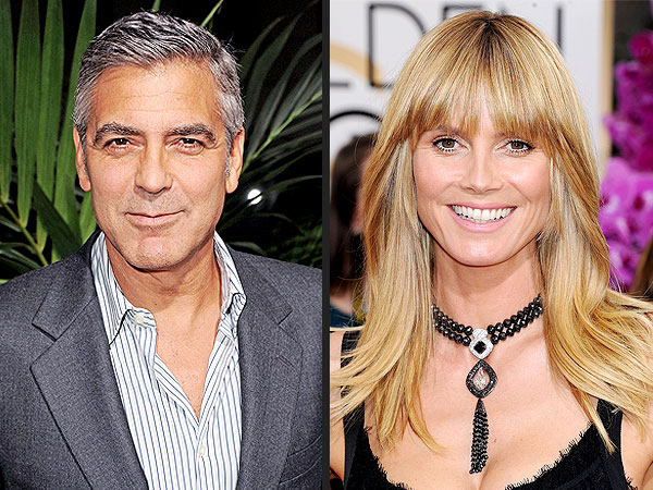 Heidi Klum Single: Date George Clooney