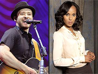 A Justin Timberlake Playlist for Birthday Twin Kerry Washington | Scandal, Justin Timberlake, Kerry Washington