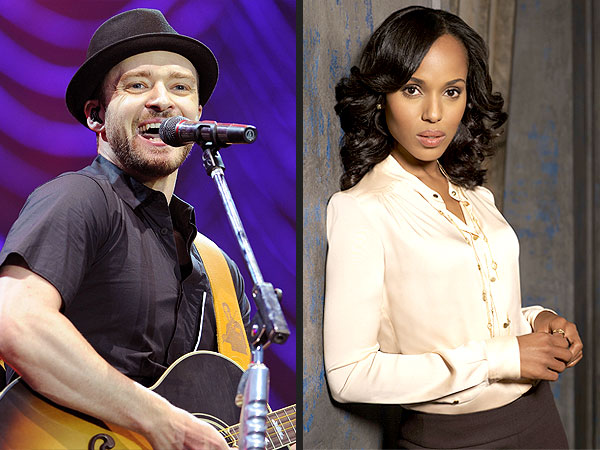 A Justin Timberlake Playlist for Birthday Twin Kerry Washington | Scandal, Justin Timberlake, Kerry Washington