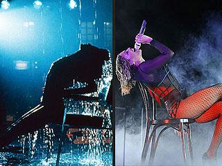 Beyoncé's Flashdance: 6  Déjà Vu Moments from the 2014 Grammys   Beyonce Knowles