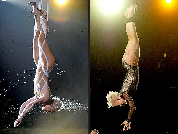 Beyoncé's Flashdance: 6  Déjà Vu Moments from the 2014 Grammys| Daft Punk, Flashdance, Beyonce Knowles, Lorde, Madonna, Pharrell Williams, Pink