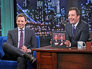In a Pickle: Jimmy Fallon, Seth Meyers Pass the Late Night 'Torch'