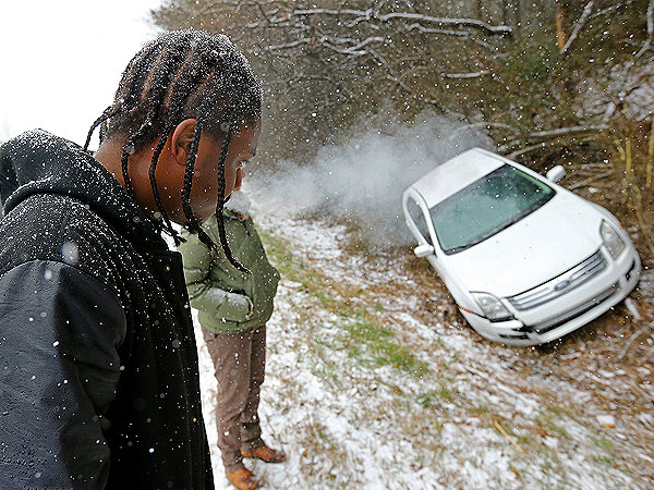 Ice Disaster: What It Looks Like When Winter Shuts Down Atlanta (Photos)| News Alerts