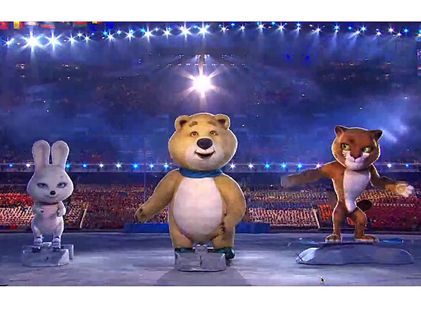 Opening Ceremony Spoiler Alert: The Snuggly Sochi Surprise We Didn't See Coming| Winter Olympics 2014