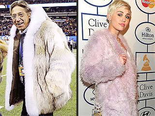 8 Things That Look Like Joe Namath's Super Bowl Coat | Joe Namath, Miley Cyrus