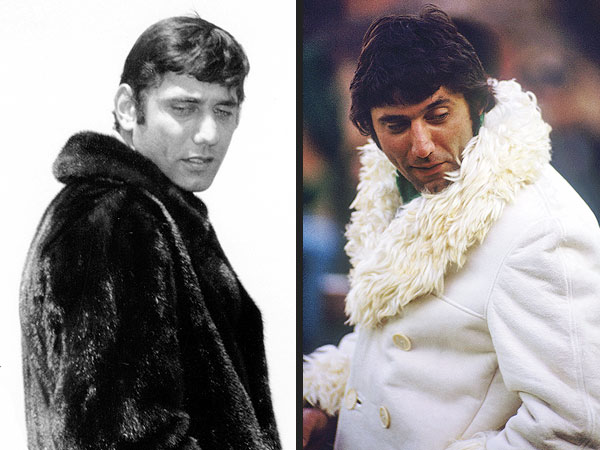 8 Things That Look Like Joe Namath's Super Bowl Coat| Super Bowl, Super Bowl XLVIII, Macklemore, Joe Namath, Miley Cyrus