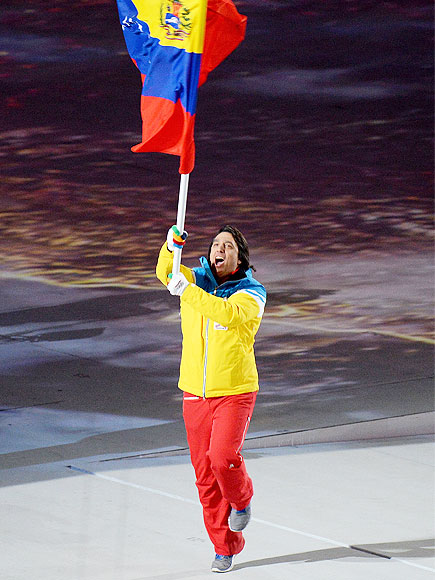 Venezuela's Lone Winter Olympian Has More Than One Great Reason to Dance| Olympics, Winter Olympics 2014