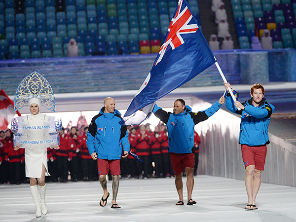 All Right, Which Olympians Are Wearing Shorts and Flip-Flops in Russia?| Winter Olympics 2014, Olympics