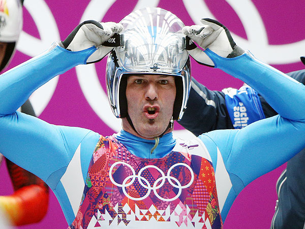 The Look of Luge: 8 Game Faces from Sochi| Olympics, Winter Olympics 2014