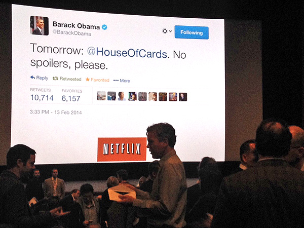 Hey Twitter: Don't Spoil House of Cards for President Obama| House of Cards, Barack Obama, Kate Mara, TV Seasons