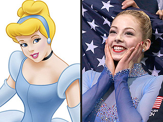 9 Sochi Olympians with Disney Doppelgängers | Olympics, Winter Olympics 2014, Cinderella (Movie - 1950), Cinderella (Movie - 1957), Gracie Gold
