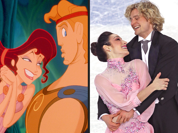 9 Sochi Olympians with Disney Doppelgängers| Winter Olympics 2014, Ashley Wagner, Gracie Gold, Meryl Davis, Olympics, Events
