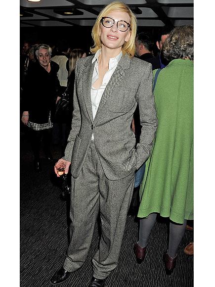 Forget Fashion Week Trends: Menswear Style on Women Is Timeless| Fashion Week, Beyonce Knowles, Cate Blanchett, Diane Keaton, Rihanna, Salma Hayek