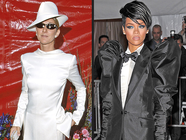 Forget Fashion Week Trends: Menswear Style on Women Is Timeless | Celine Dion, Celine Dion, Rihanna