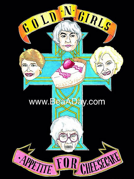 #BeaADay: The Golden Girls Art Project You Didn't Know You Needed | The Golden Girls, Bea Arthur