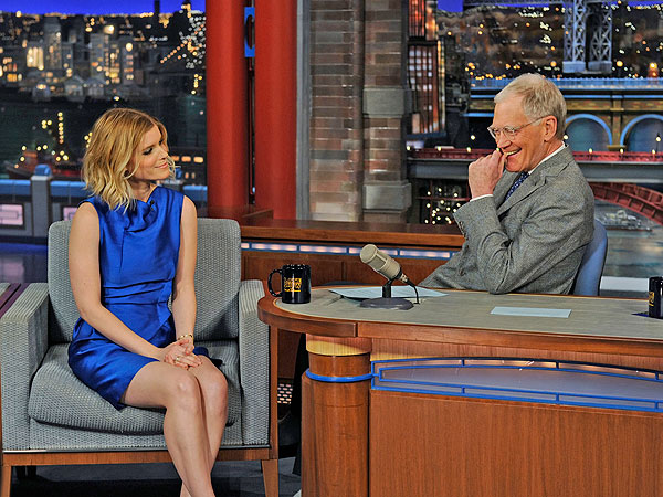Kate Mara Gives Away Huge House of Cards Twist to David Letterman (Spoilers!) | Late Show With David Letterman, David Letterman, Kate Mara