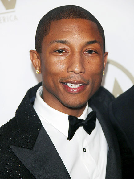 Pharrell Williams Assures Everyone He Is Not a Blood-Drinking