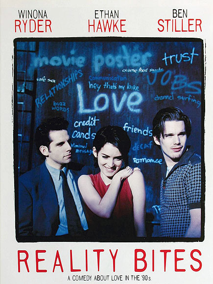 20 Things We Love About Reality Bites on Its 20th Anniversary| Reality Bites, Ben Stiller, Ethan Hawke, Janeane Garofalo, Steve Zahn, Winona Ryder, Actor Class