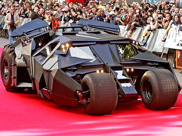 Buy the Batmobile! A Replica of Batman's Car Could Be Yours | Batman, The Dark Knight