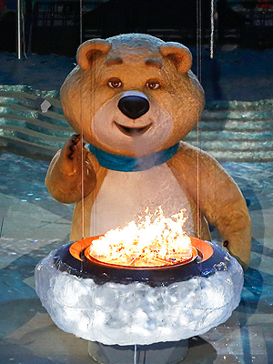 Giant Sochi Mascots Make Their Triumphant Return  Winter Olympics 2014