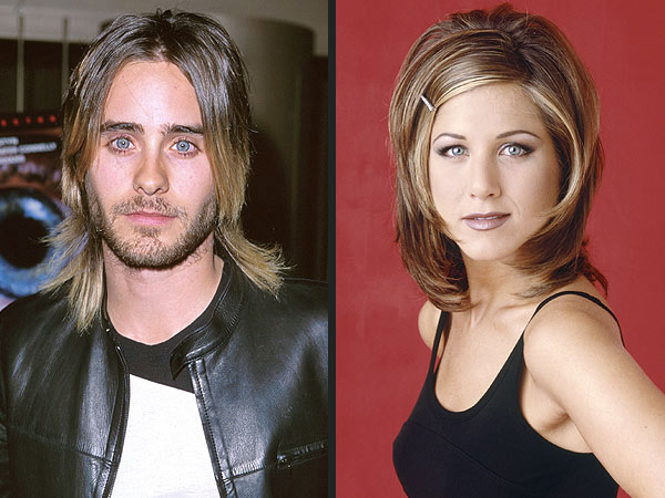 See Jared Leto's Many Friends-Inspired Hairstyles | Friends, Jared Leto, Jennifer Aniston