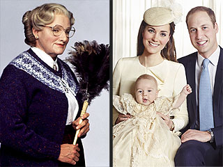 Prince George Needs a New Nanny: Some Pop Culture Candidates | Mrs. Doubtfire, Kate Middleton, Prince George, Prince William