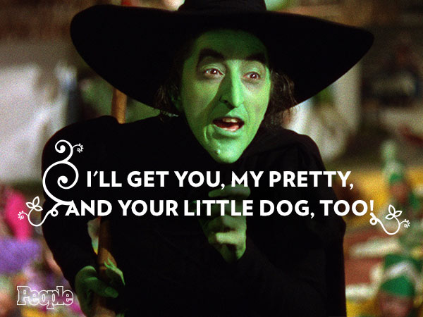 wizard of oz wicked witch of the east quotes