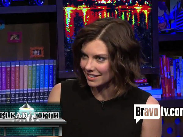 Watch: Lauren Cohan Fears for Her Walking Dead Character's Life