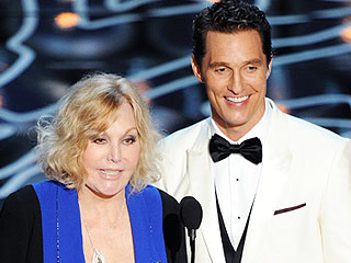 Kim Novak: Oscar Night Bullies Like Donald Trump Sent Me 'Into a Tailspin' | Oscars 2014, Kim Novak, Matthew McConaughey