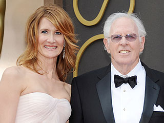The Derns Do Dad-Daughter Oscar Date Night | Oscars 2014, Bruce Dern, Laura Dern