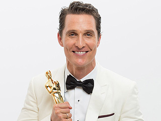 See Matthew McConaughey's Adorable Vintage Prom Photo | Academy Awards, Oscars 2014, Dallas Buyers Club, Matthew McConaughey